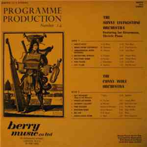 The Sunny Livingstone Orchestra Featuring Joe Kienemann / The Conny Wolf Orchestra - Programme Production Number 14 download